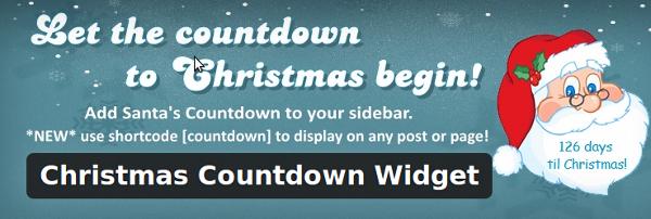 Christmas Countdown Widget