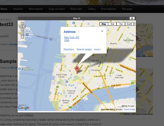 widget google maps2