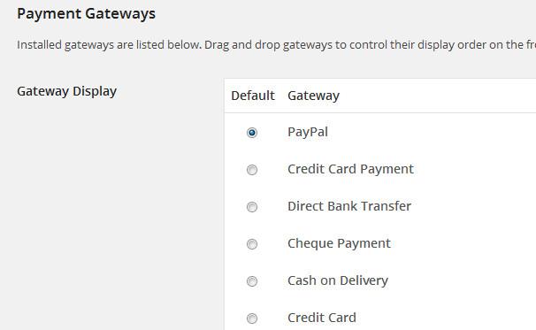 elegir pagos