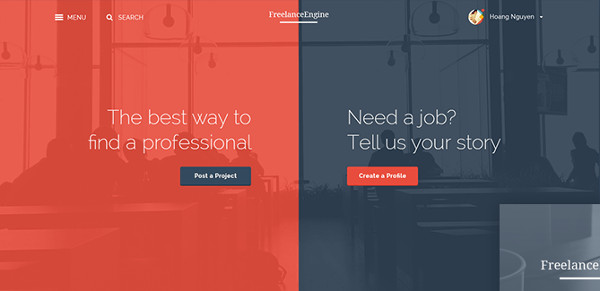 freelanceengine theme