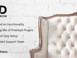 diseño interior wordpress plantilla